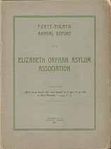 Thumbnail image of Elizabeth Orphan Asylum Association 1906 Report cover