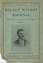 Thumbnail image of Select Knight Journal 1901 September cover