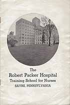 Thumbnail image of Robert Packer Hospital Officers of the Training School for Nurses cover