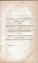 Thumbnail image of Ohio Deaf and Dumb Inst. 1841 Report cover