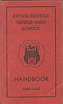 Thumbnail image of Eichelberger Senior High School 1941-42 Handbook cover