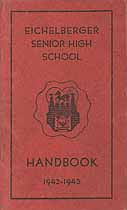 Thumbnail image of Eichelberger Senior High School 1942-43 Handbook cover