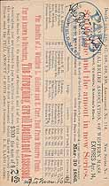 Thumbnail image of Western Mass. Masonic Mutual Relief Assoc. 1886 Assessment (March) cover