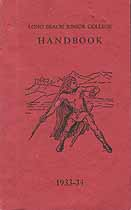 Thumbnail image of Long Beach Junior College 1933-34 Handbook cover