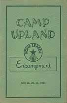 Thumbnail image of Home League Encampment 1952 Program cover