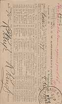 Thumbnail image of Barrie Lodge No. 77 A. O. U. W. 1892 (September) Deaths cover