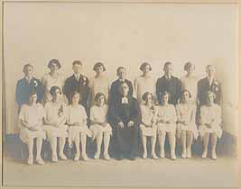 Thumbnail image of Emanuel Church 1927 Confirmation Class Photograph cover