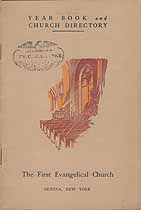 Thumbnail image of Geneva First Evangelical Church 1932 Year Book cover