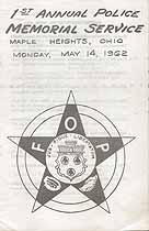 Thumbnail image of George Murray Lodge No 67 F. O. P, 1962 Memorial Service cover