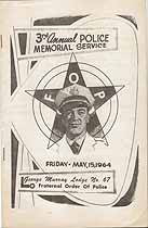 Thumbnail image of George Murray Lodge No 67 F. O. P, 1964 Memorial Service cover