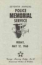 Thumbnail image of George Murray Lodge No 67 F. O. P, 1968 Memorial Service cover