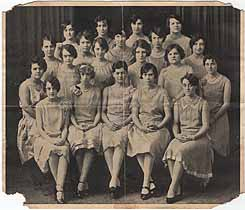 Thumbnail image of Defiance College 1928 Women's Glee Club Program cover