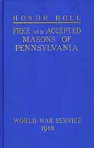 Thumbnail image of Pennsylvania Masons in The World War 1914-1918 cover