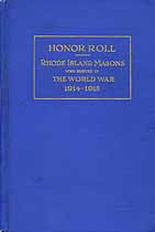 Thumbnail image of Rhode Island Masons in The World War 1914-1918 cover