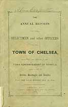Thumbnail image of Chelsea, Vermont, 1883, Town Report cover