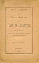 Thumbnail image of Dunbarton, New Hampshire, 1890, Town Report cover