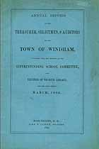 Thumbnail image of Windham, New Hampshire, 1882, Town Report cover