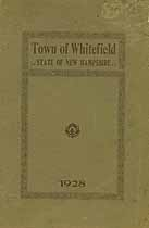 Thumbnail image of Whitefield, New Hampshire, 1928, Town Report cover