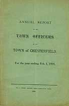 Thumbnail image of Chesterfield, Massachusetts, 1898, Town Report cover