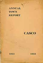 Thumbnail image of Casco, Maine, 1923, Town Report cover