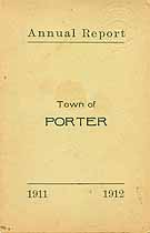 Thumbnail image of Porter, Maine, 1912, Town Report cover