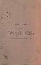 Thumbnail image of Derry, New Hampshire, 1893, Town Report cover